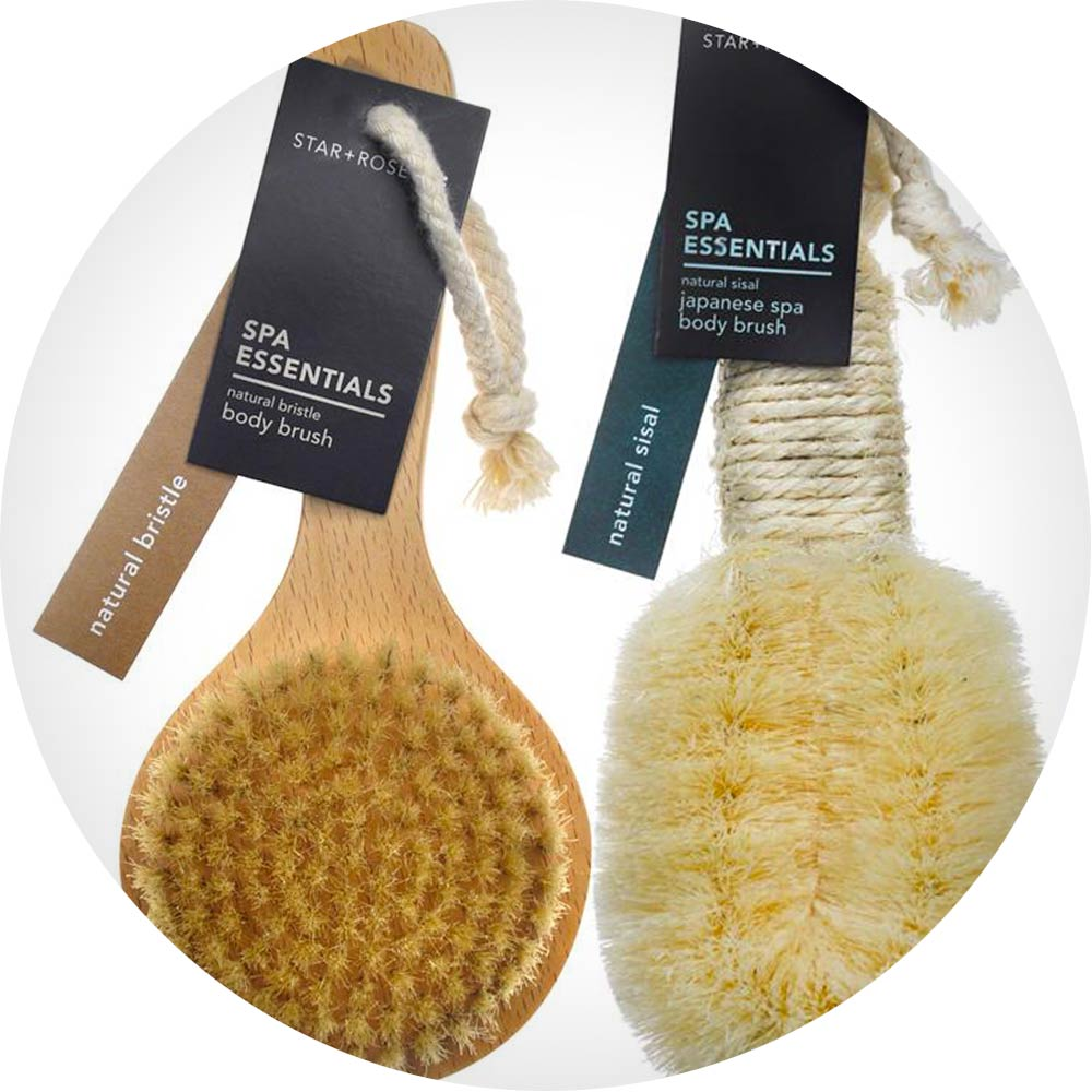 body brushes
