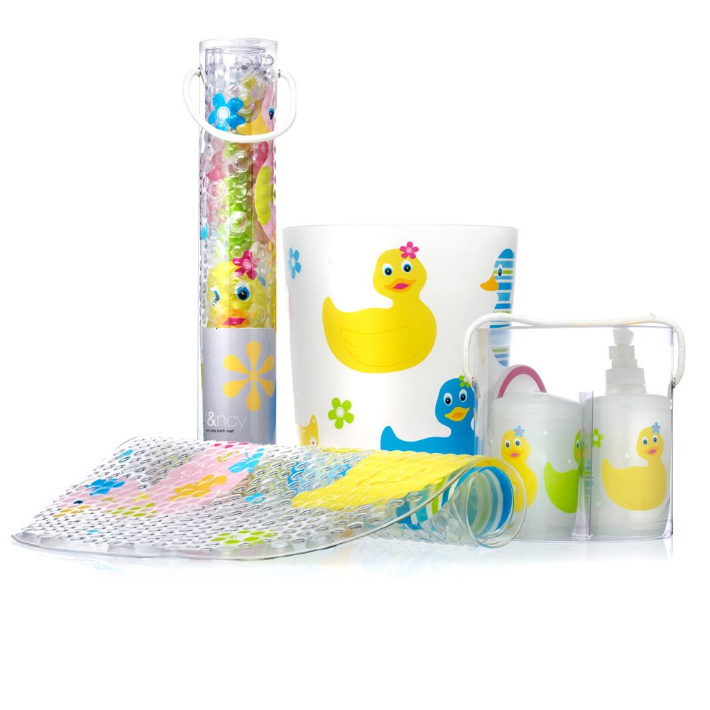 Fancy Duck Bath Set was $7.25 - specials, bathroom accessories ...