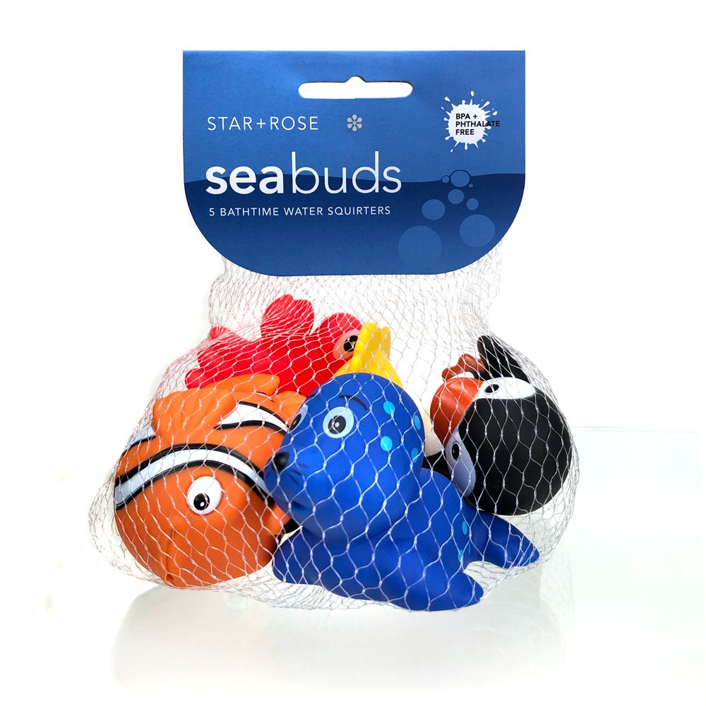 Seabuds 5 Pce Water Squirter Set - Click to enlarge