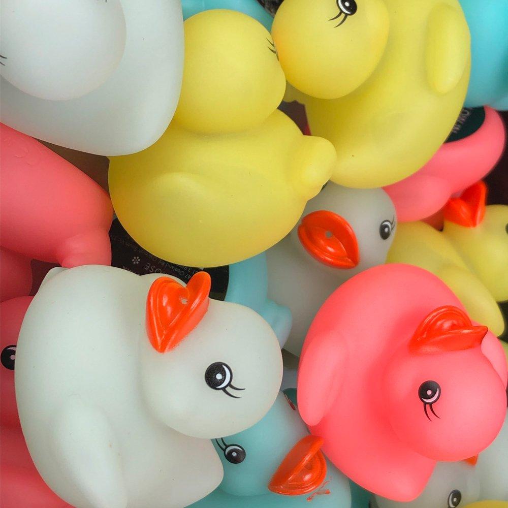 Glow in the dark ducks (Display of 24)