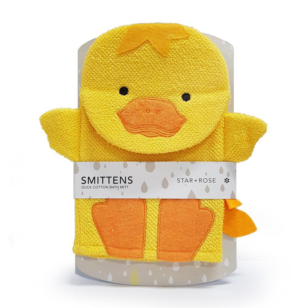 Smittens Duck bath mitt - Click to enlarge