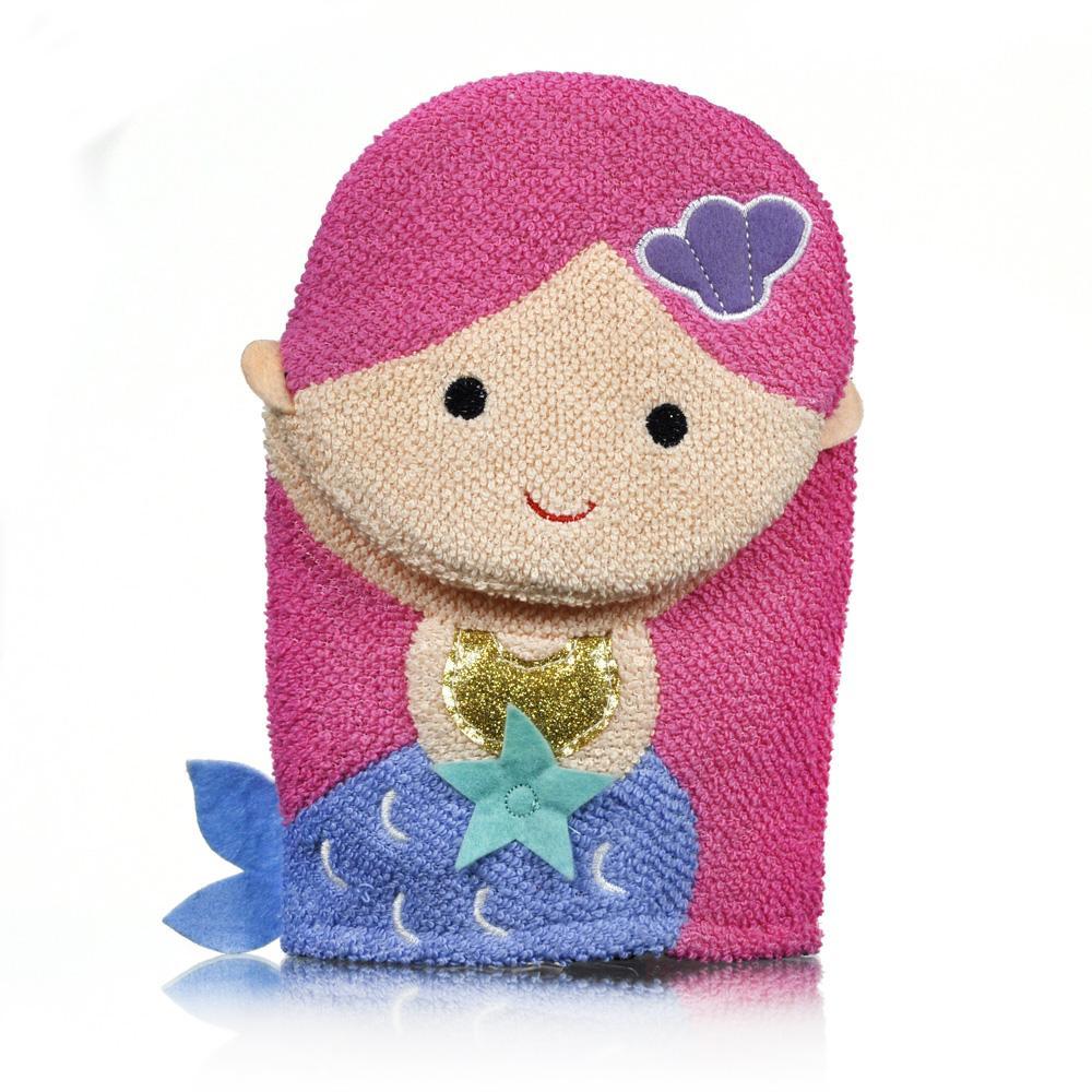Smittens Mermaid Kisses bath mitt - Click to enlarge