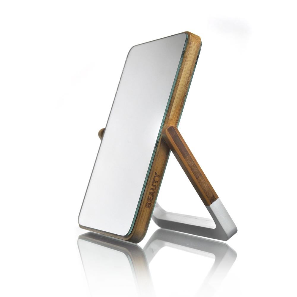 Bamboo Swivel Mirror - Click to enlarge