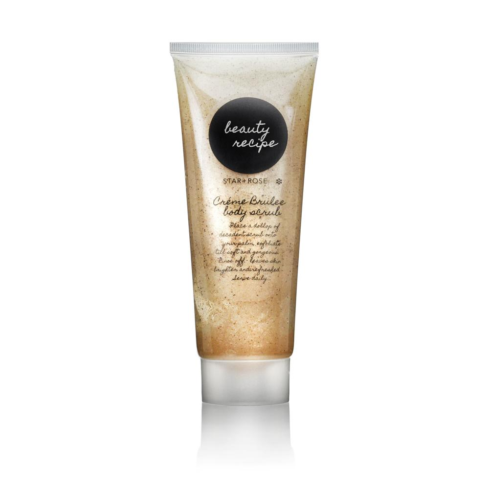 Beauty Recipe body scrub - Creme Brulee - Click to enlarge