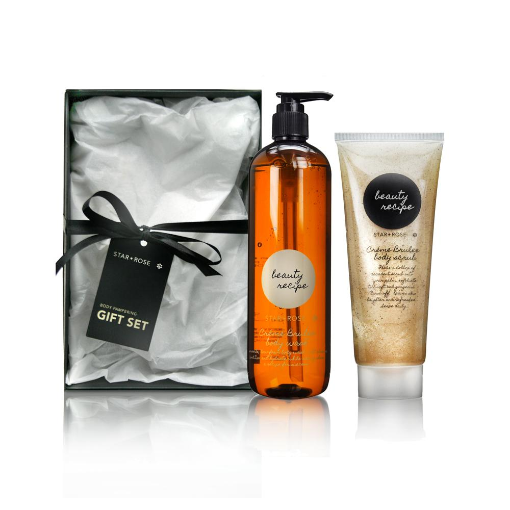 Beauty Recipe body Gift Box  - Creme Brulee - Click to enlarge