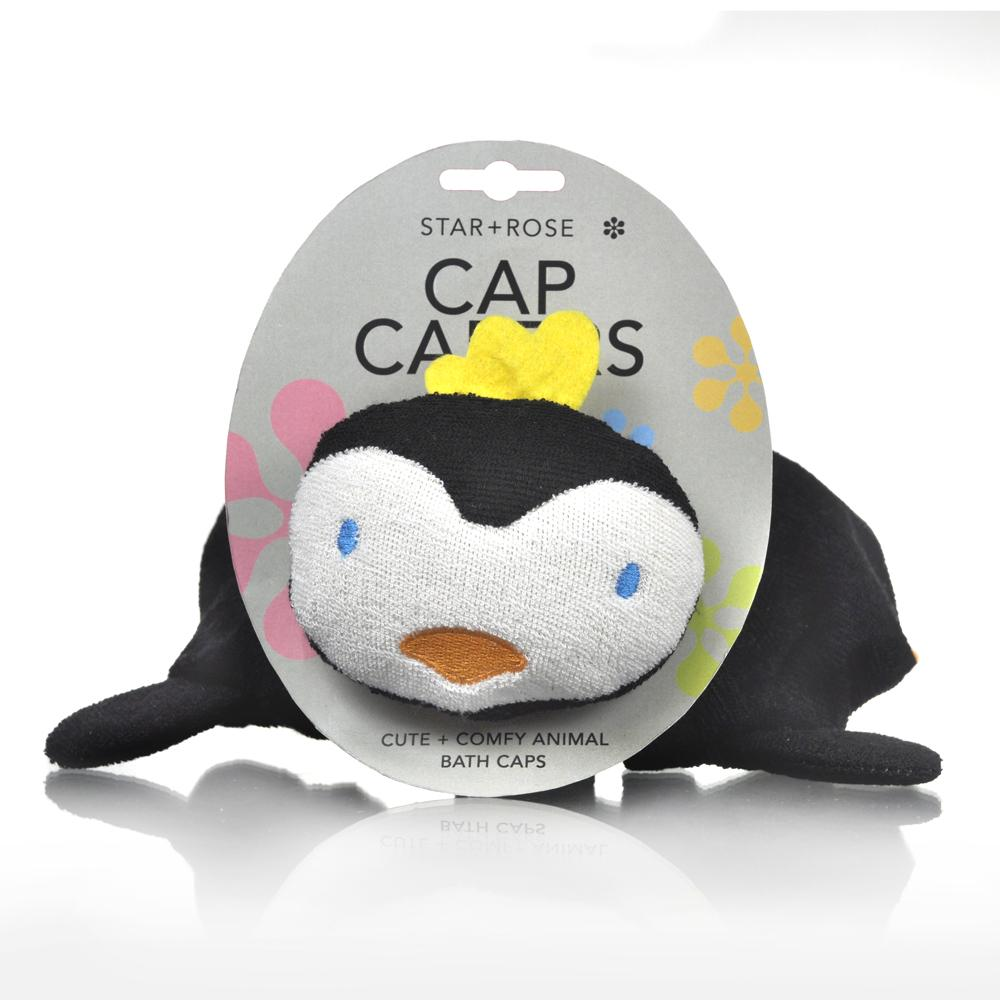 Penguin Cap Caper Kids Bathroom Accessories Product Detail
