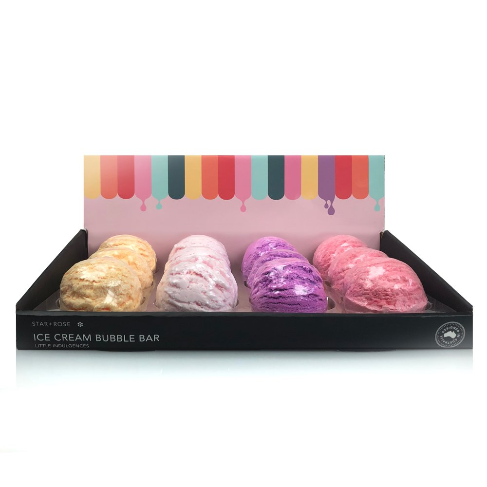 Ice Cream Bubble Bar Bath Fizzers - Click to enlarge