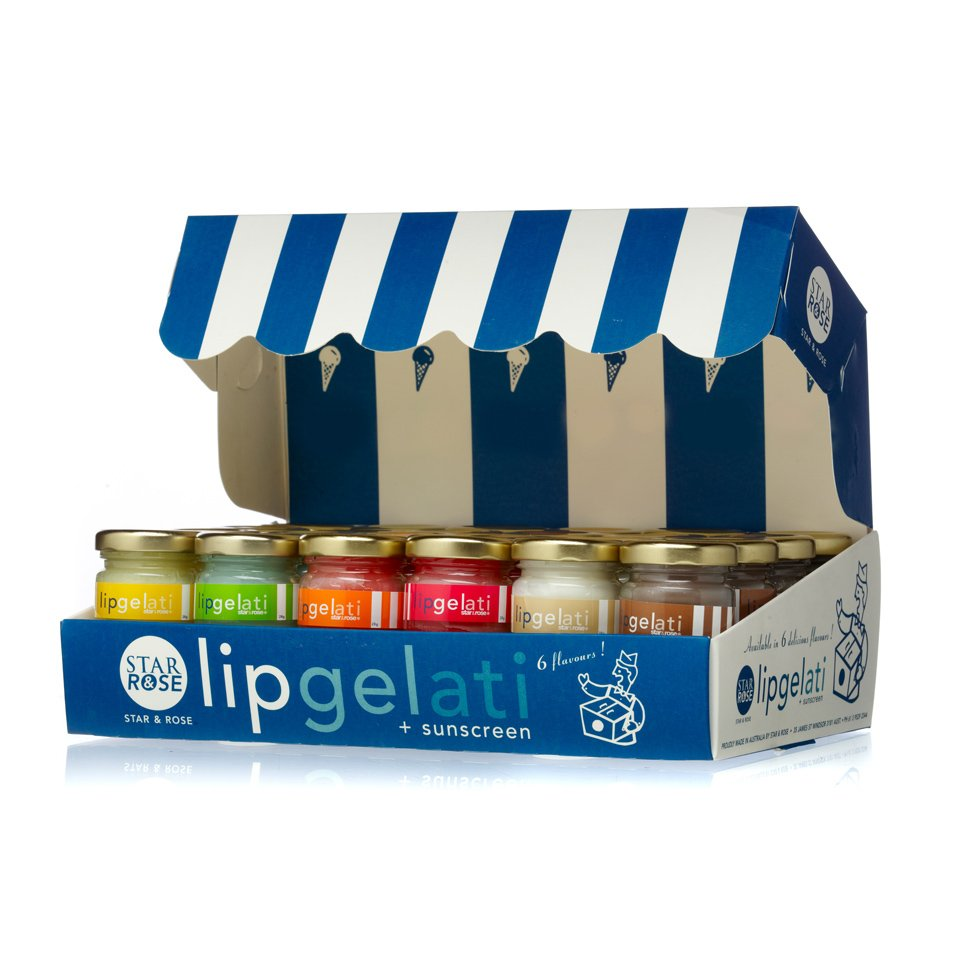 Lip Gelati - blue 48 Pce Set - Click to enlarge