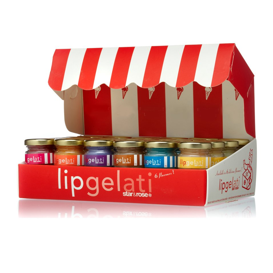 Lip Gelati - red 48 Pce Set - Click to enlarge