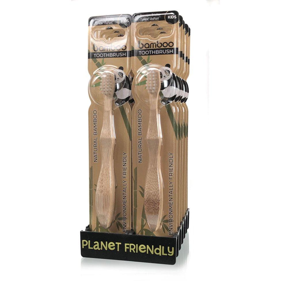 Kids Bamboo Toothbrushes