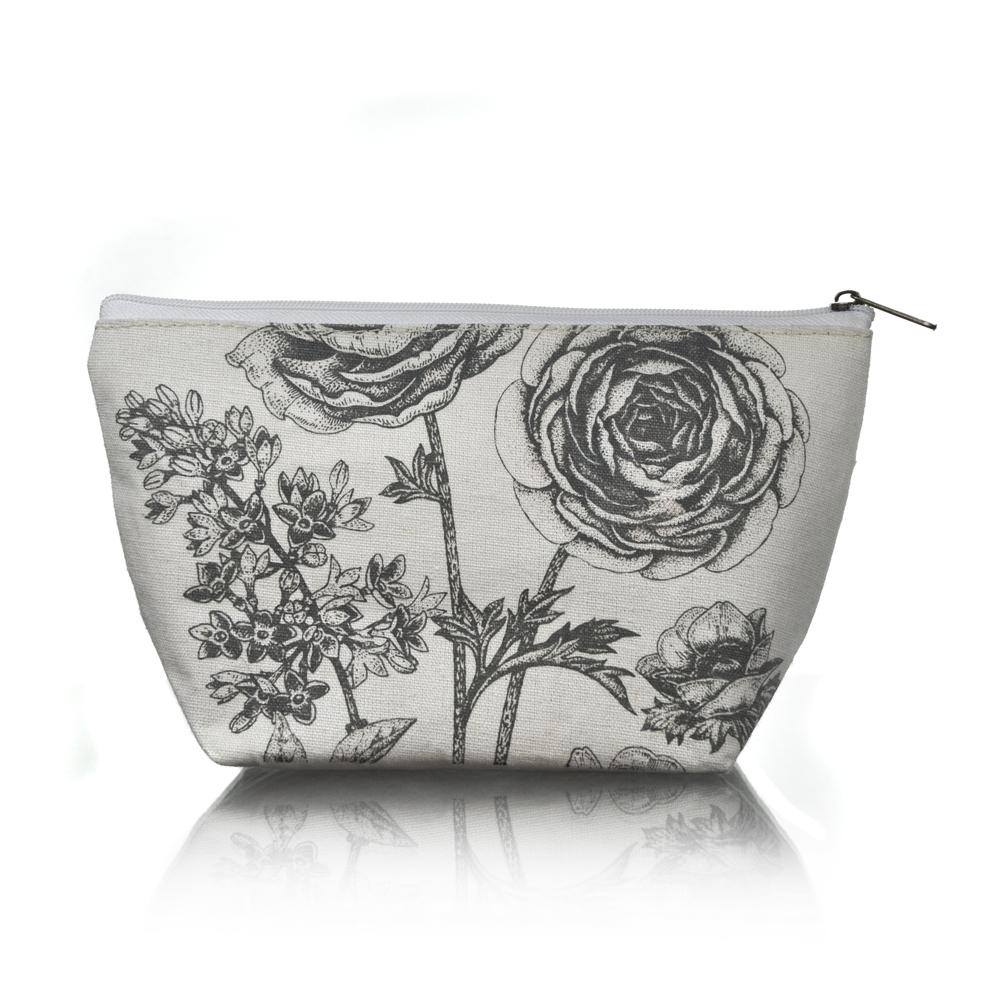 Rambling Rose Cosmetic Bag - Click to enlarge