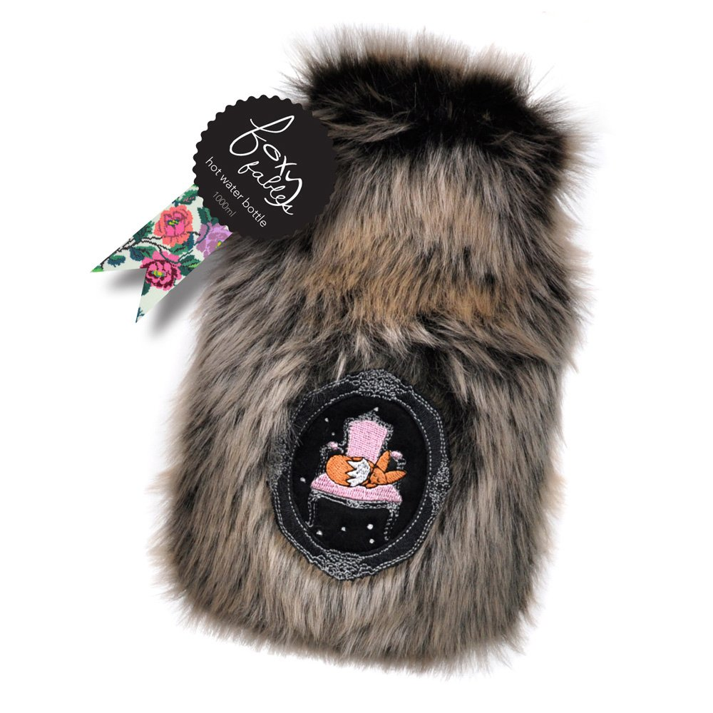 Foxy Fables hot water bottle - Was $5.90 - Click to enlarge