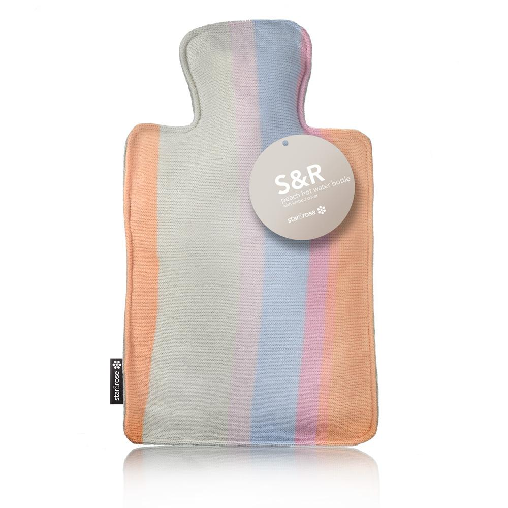 S&R Peach 2Lt Hot Water Bottle - Click to enlarge