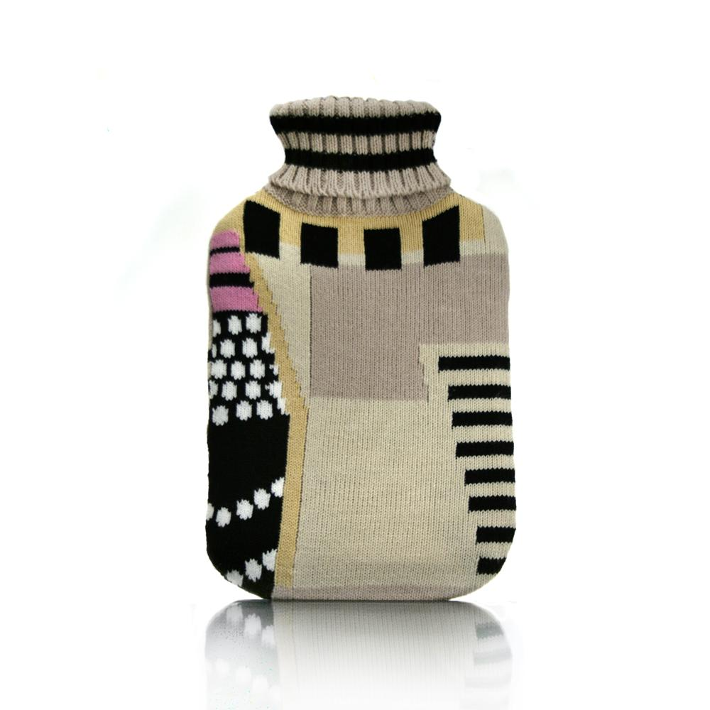 S+R Auriginal Hot water bottle with Cover - Click to enlarge