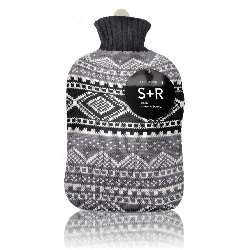 Stina 2 lt hot water bottle and cover - Click to enlarge