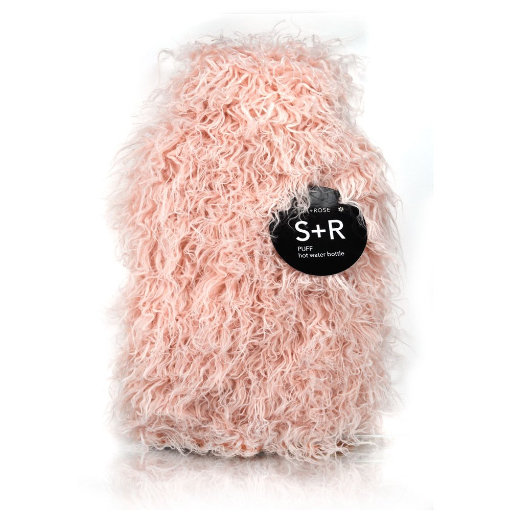 Puff 2 lt hot water bottle and cover - Click to enlarge