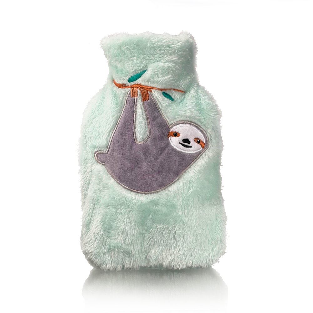 Sloth Plush Mini Hot water bottle with Cover 1L - Click to enlarge