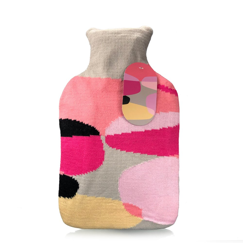 Accent Hot water Bottle with cover 2L - Click to enlarge