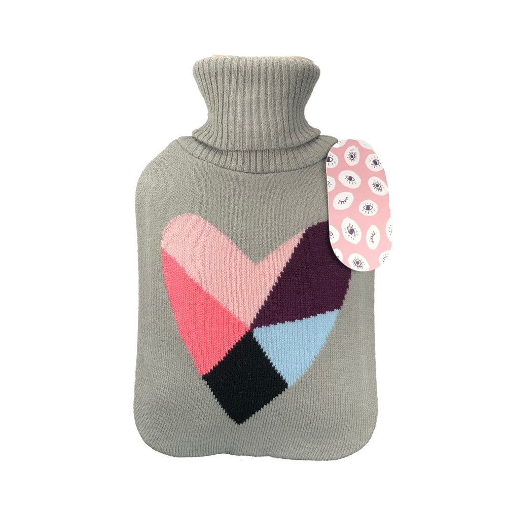 Shaman Hot water Bottle with cover 2L - Click to enlarge