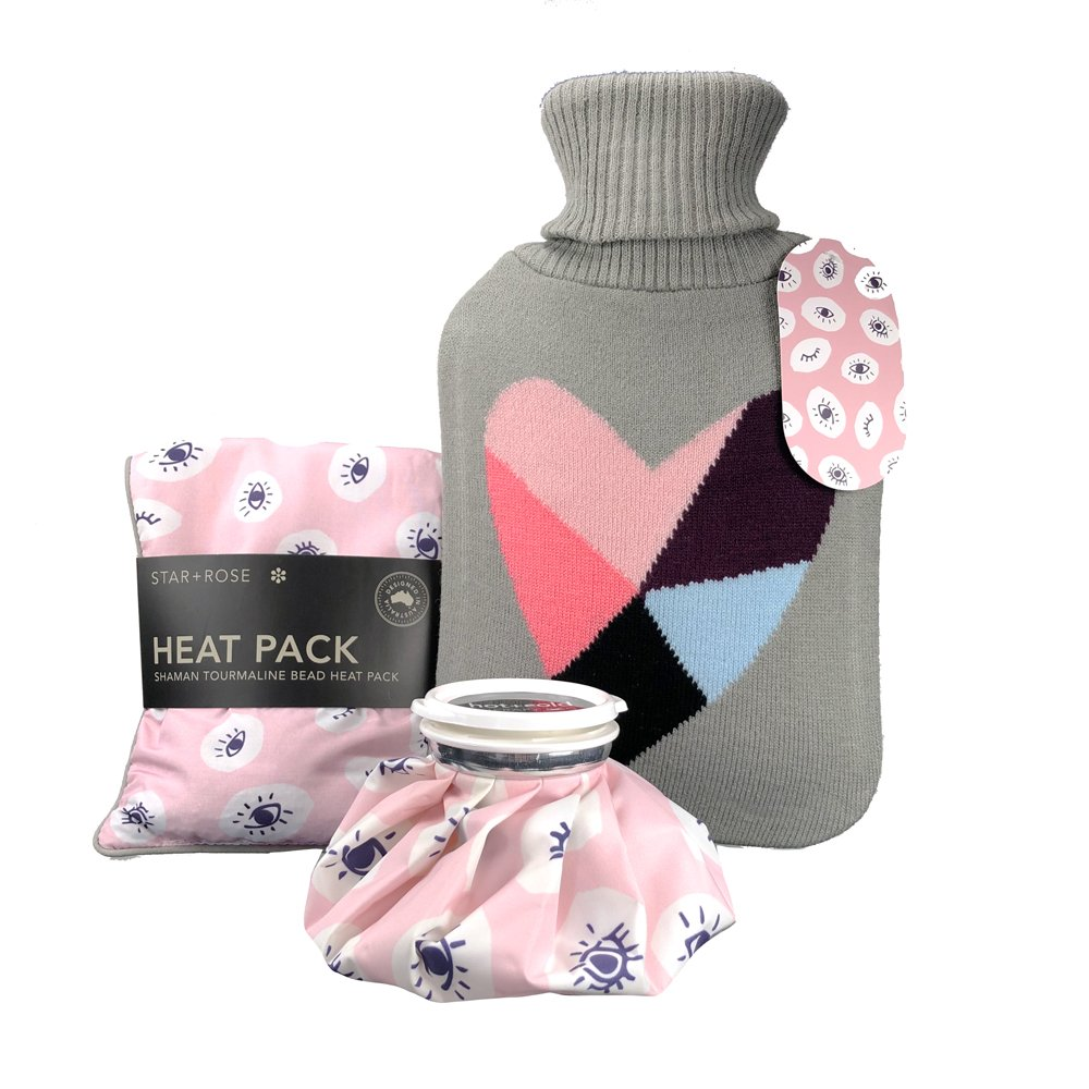 Shaman Hot water Bottle with cover 2L