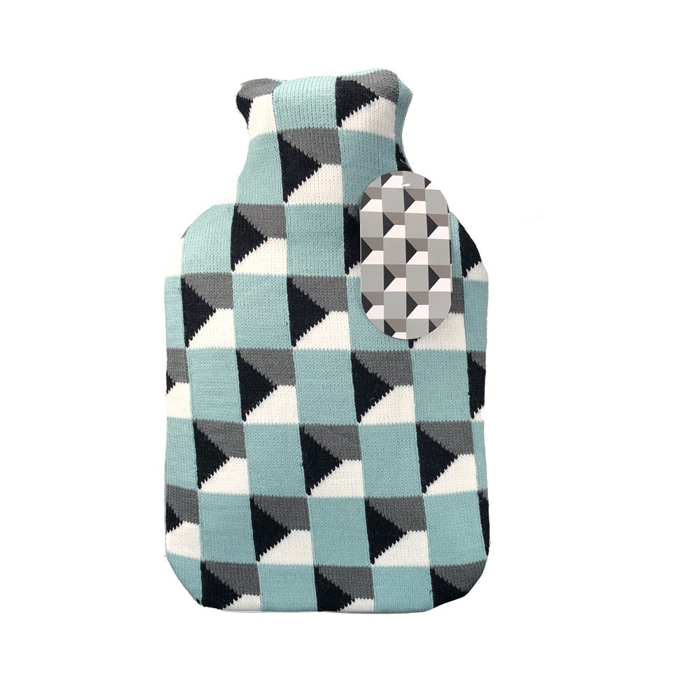 Isometric Hot water Bottle with cover 2L - Click to enlarge