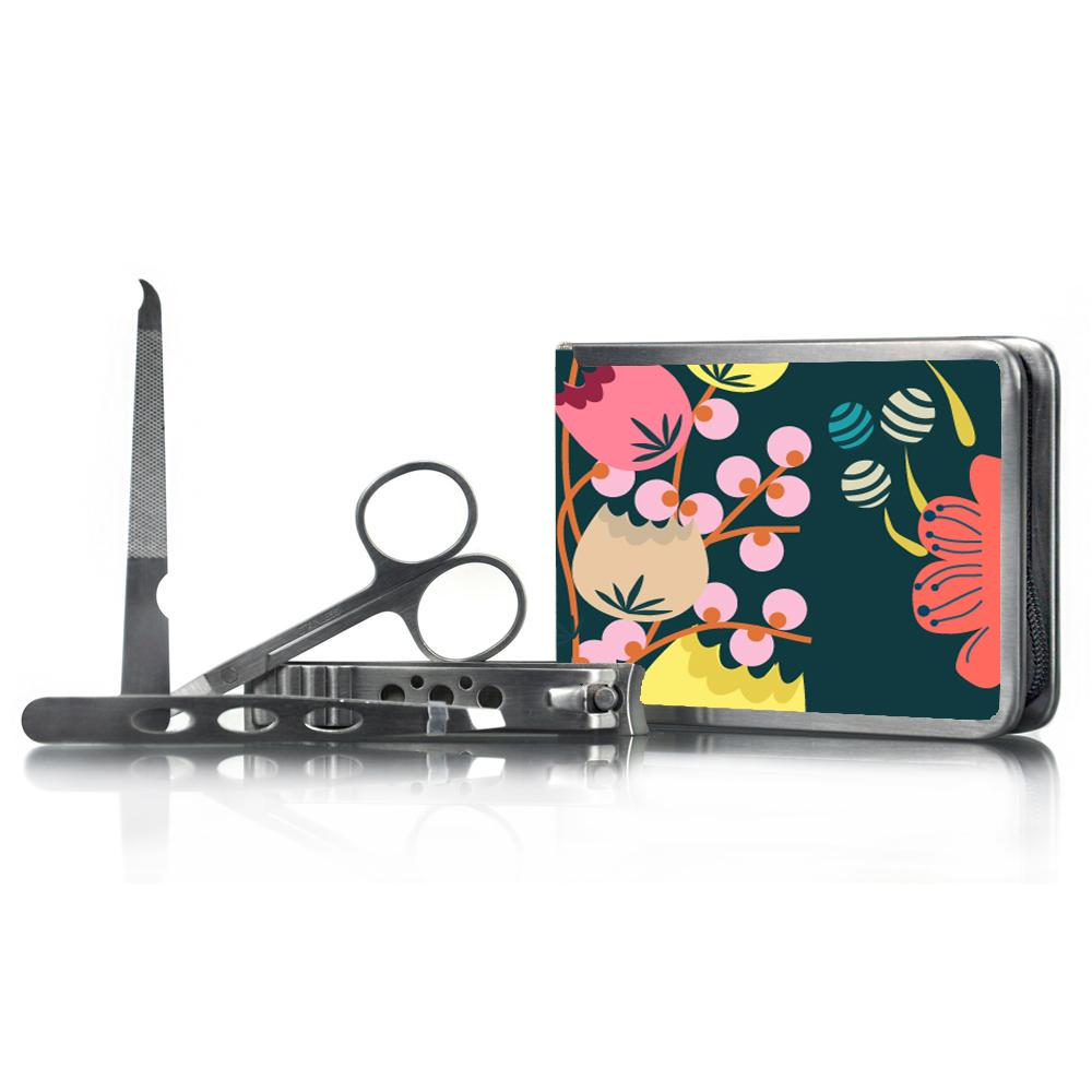 FLORAL Manicure Set - Click to enlarge