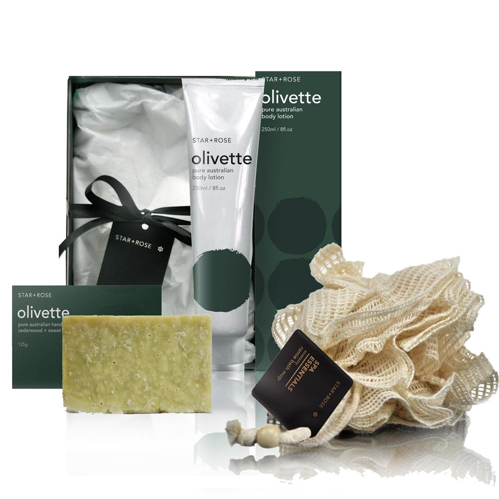 Olivette + Spa Gift Box 3 - Click to enlarge