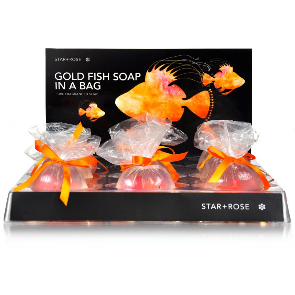 Goldfish in a bag soap - Click to enlarge