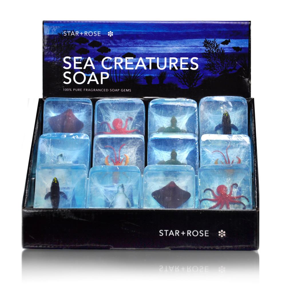 Sea Creatures Soap (12 pack) - Click to enlarge