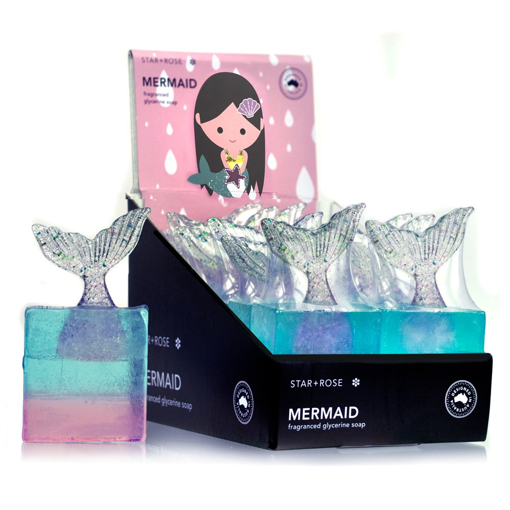 Mermaid soap - Click to enlarge