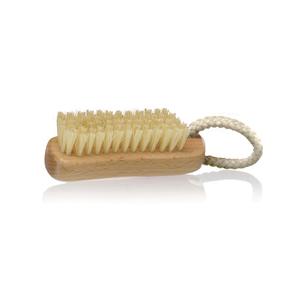Sisal Bristle Nail Brush - Click to enlarge