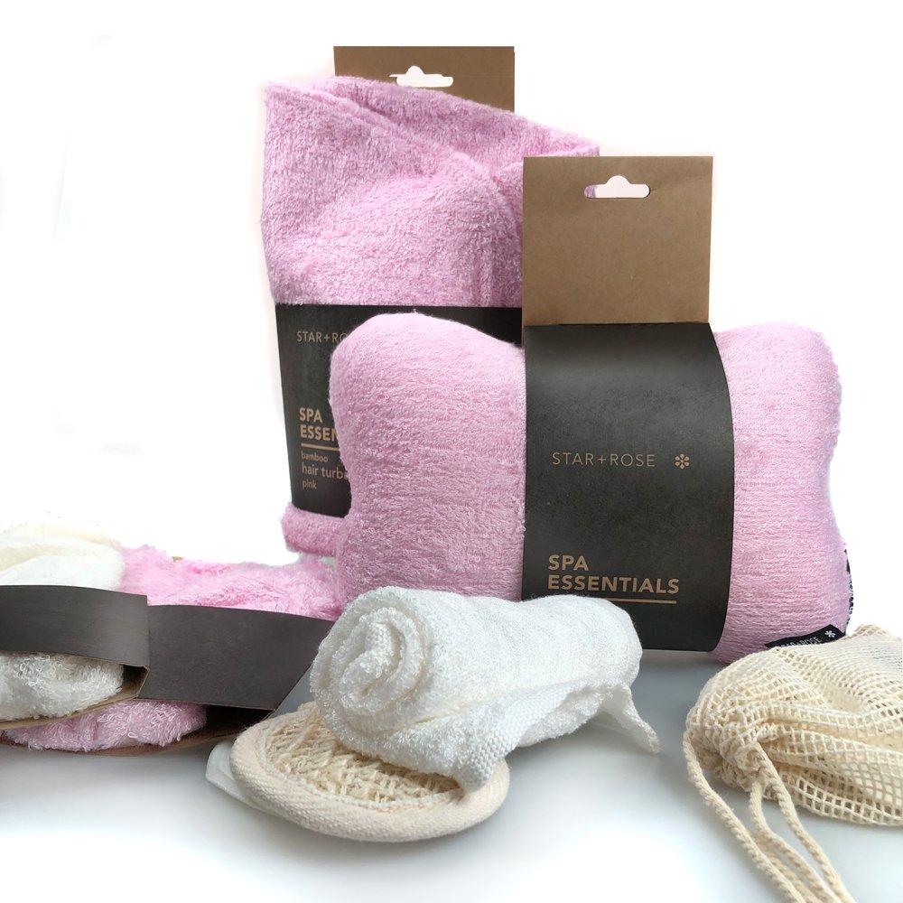 Bamboo bath Pillow - Pink