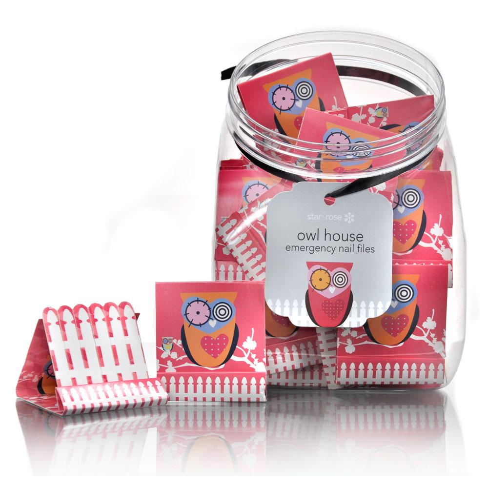 Owl Emergency Nail Files - jar Was $61.20 - Click to enlarge