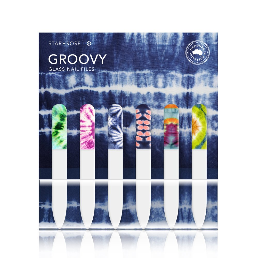 Groovy Glass Nail File (36) - Click to enlarge