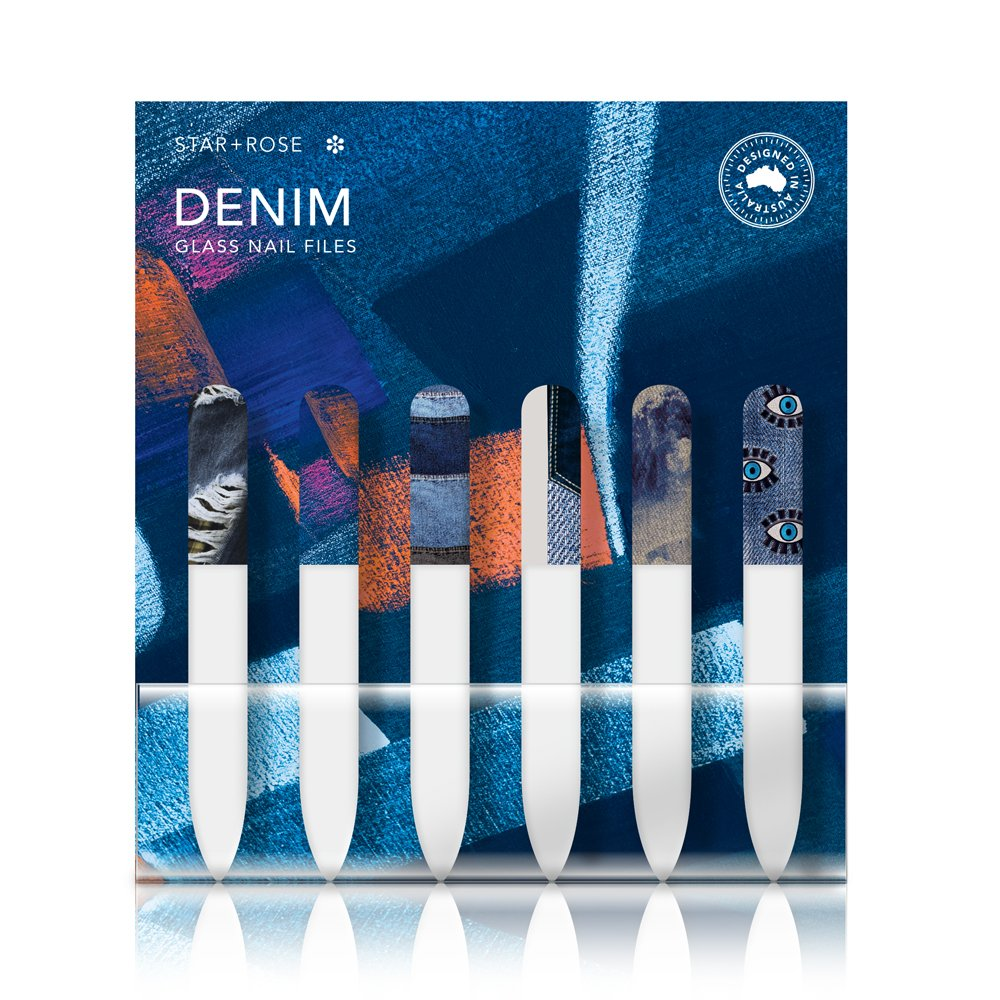Denim Glass Nail File (36) - Click to enlarge