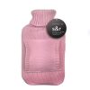 S+R Pink Flannel Hot Water Bottle - Click for more info
