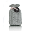 Grey Heirloom Hot Water bottle with Cover - Click for more info