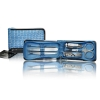 Blue foil manicure set - Click for more info